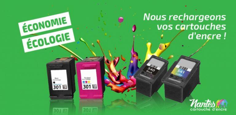 Achetez des cartouches d'encre à Nantes