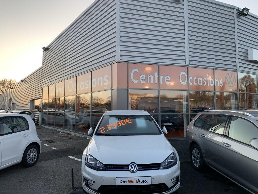 Pose adhésif extérieur centre occasion Volkswagen
