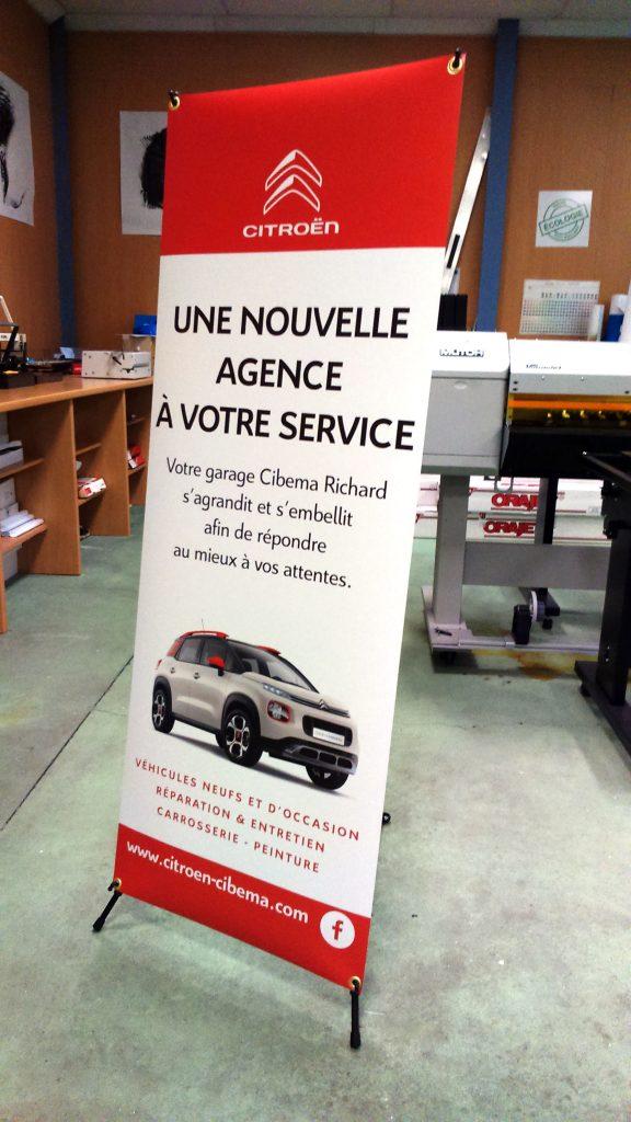 Roll up Citroën